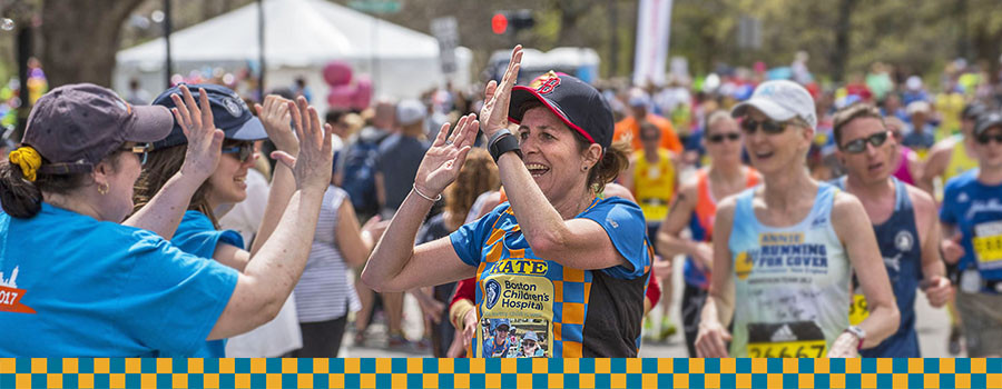 Boston marathon 2018 Get Involved